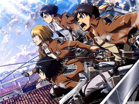 Gelang Anime Attack On Titan Snk snk attack on titan anim 233 loverz fond d 233 cran 35700512 fanpop