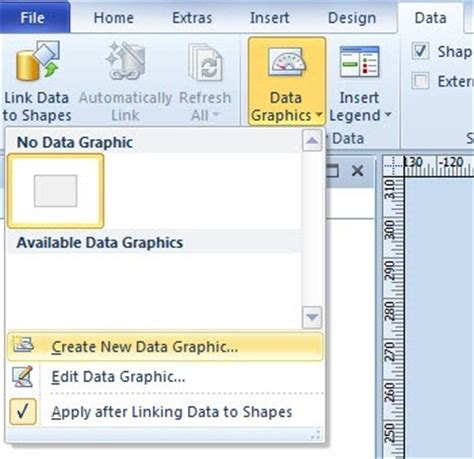 visio link data to shapes goldsmith s vislog multi color by value using visio