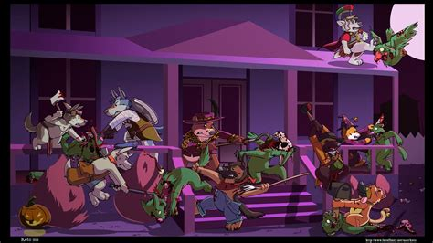 anthro furry zombies hd wallpapers desktop  mobile