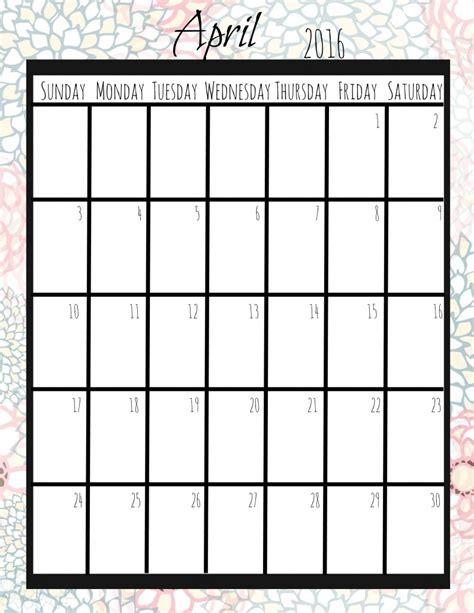 printable calendar vertical 2016 free printable 2016 calendar more excellent me