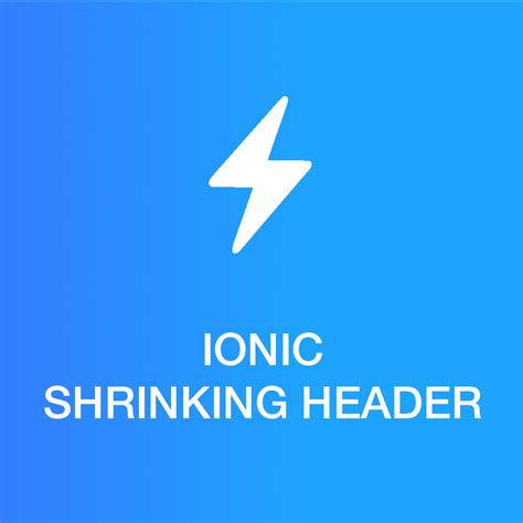 ionic layout header ionic 2 ionic shrinking header ionic marketplace