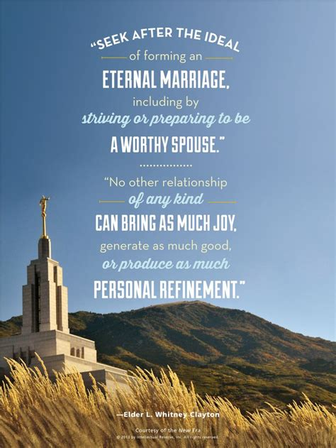 Wedding Quotes Lds by Image Gallery Lds Marriage Quotes