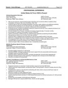 Free federal resume sample free resume templates