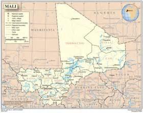 Galerry Map of Mali