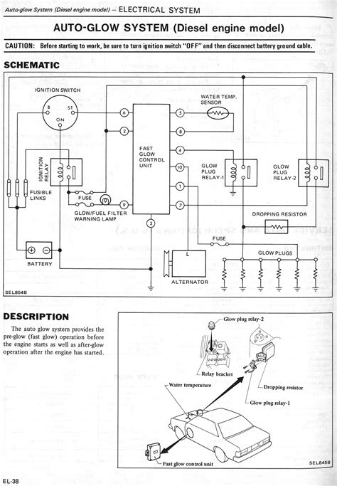 nissandiesel forums view topic glow circuit