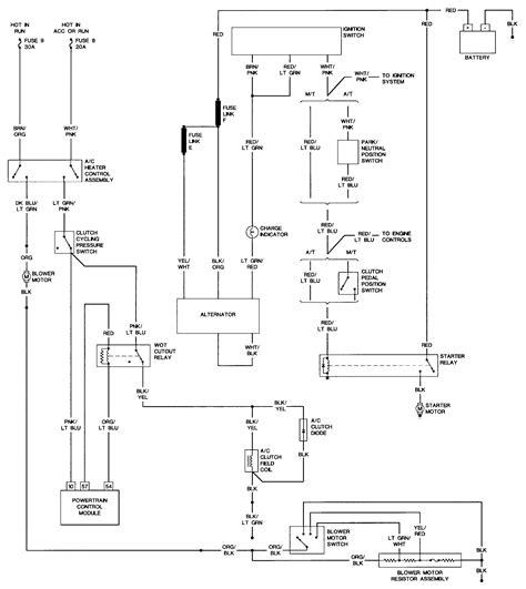 1990 mustang wiring diagram 1990 mustang starter solenoid wiring diagram 44 wiring