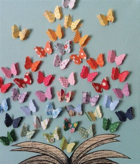 decorar paredes goma eva mariposas decoraci 243 n pared goma eva cartulina papel x 50