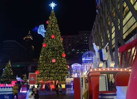 where to celebrate christmas in bangkok thailand