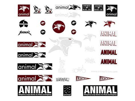 Animal Bike Stickers