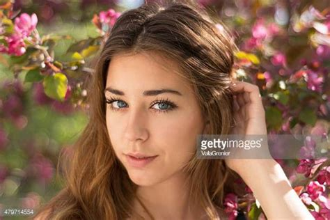 product for tucking hair behind ears 17 year old models stock photos and pictures getty images