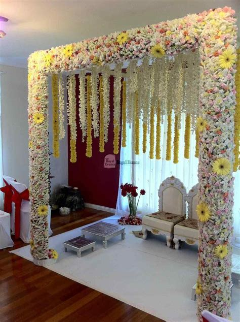engagement decoration at home indian wedding bedroom decoration ideas siudy net