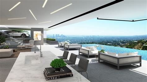 Badezimmerdesign Los Angeles by Contemporary Mansions On Sunset Plaza Drive La 11