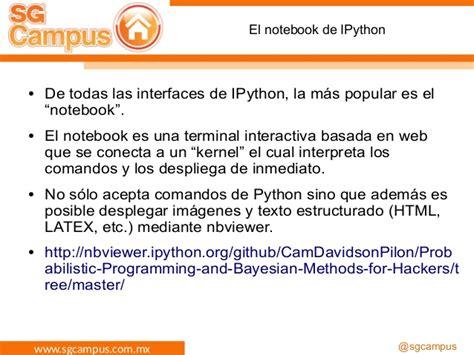imagenes y texto latex jupyter e ipython para manipulaci 243 n de datos