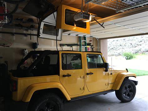 Jeep Top Hoist Garage Hoist For Top Page 2 Jeep Wrangler Forum