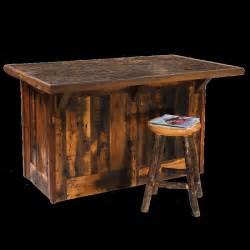 burleson home furnishings barnwood kitchen island real