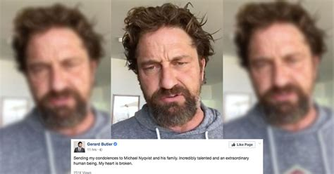 michael nyqvist ear gerard butler shares heartbreaking facebook tribute to