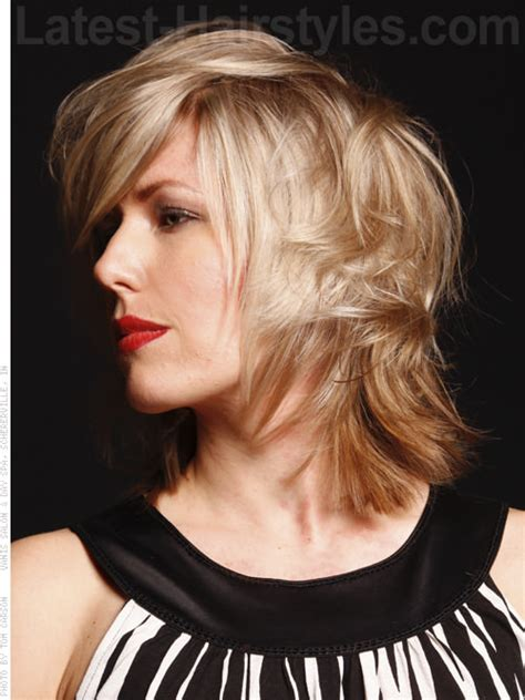 hairstyles with lots of crown layers medium haircuts with lots of crown layers