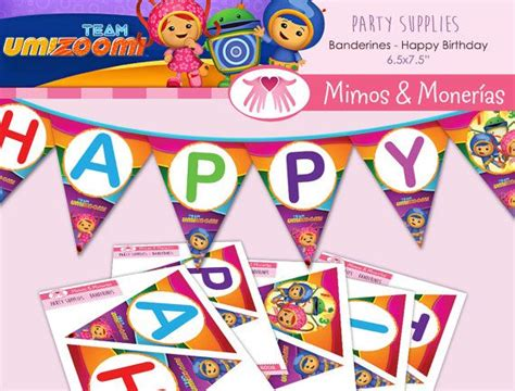 printable team umizoomi birthday banner 113 best images about party ideas diy on pinterest