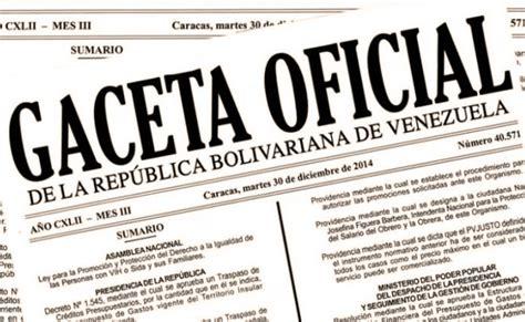 Aumento De Cesta Ticket Gaceta Oficial Septiembre 2015 | aumento de cesta ticket gaceta oficial septiembre 2015
