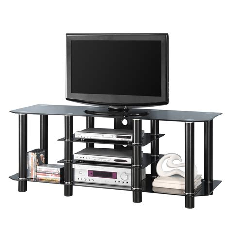 metal tv stands 3 tier tv stand bring the entertainment center