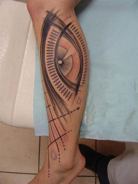 tattoo eye leg eye tattoos and designs page 110