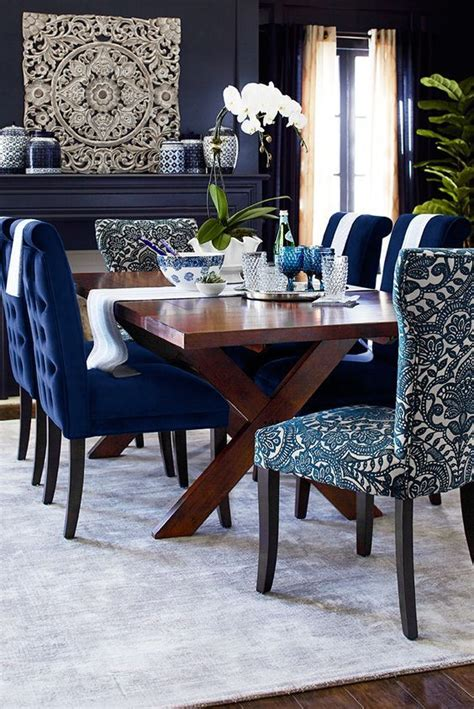 blue dining room table best 25 dining room chairs ideas on dining
