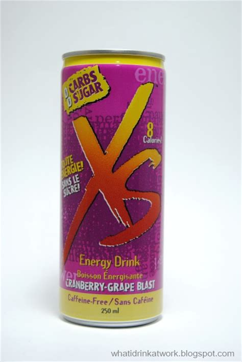 xs energy drink review xs energy drink cranberry grape blast caffeine free review