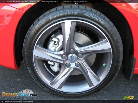 r design 18 quot ixion alloy wheels 2012 volvo s60