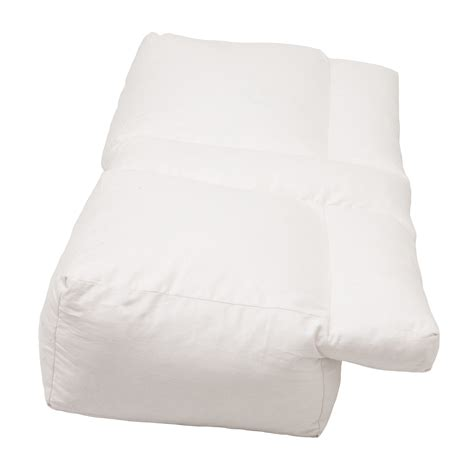 Arm Pillow by Better Sleep Pillow White Goose Sleeping W Arm
