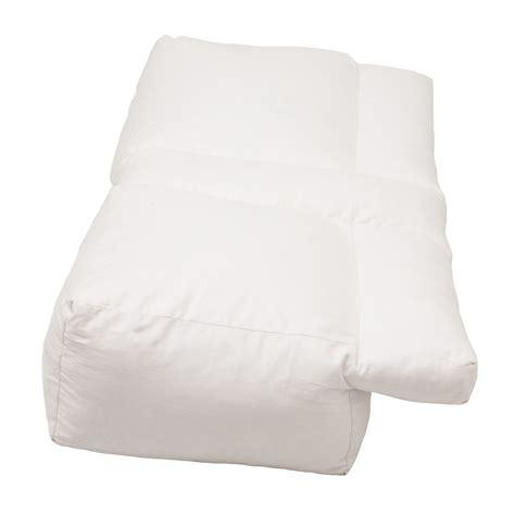 Arm Sleeper Pillow by Better Sleep Pillow White Goose Sleeping W Arm Pillow Ebay