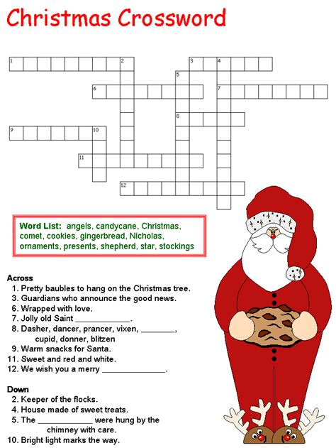 christmas decorations crossword puzzle christmas lights