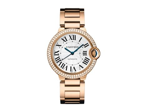 Cartier Cyntia 9005 Set cartier we9005z3 ballon bleu 18krg and diamonds automatic silver mid size
