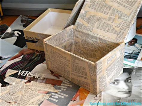 Decoupage With Book Pages - decoupage boxes and the kilted chris