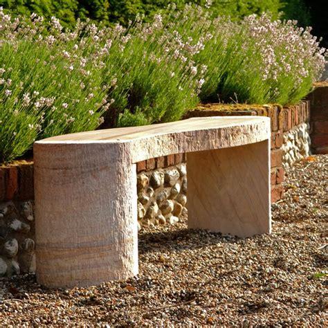 sandstone garden bench foras jasper curved rainbow stone garden bench internet