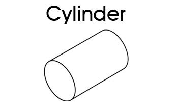 How To Make Cylinder Shape With Paper - 3d shapes cylinder printable