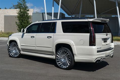 cadillac escalade custom another out caddy escalade by forgiato