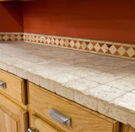 Tiled Kitchen Countertops Tile Kitchen Countertop Pictures And Ideas