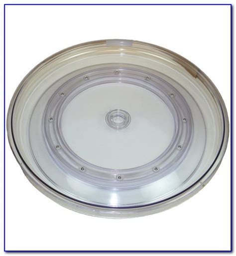 Glass Table Top Lazy Susan Turntable Tabletop Home