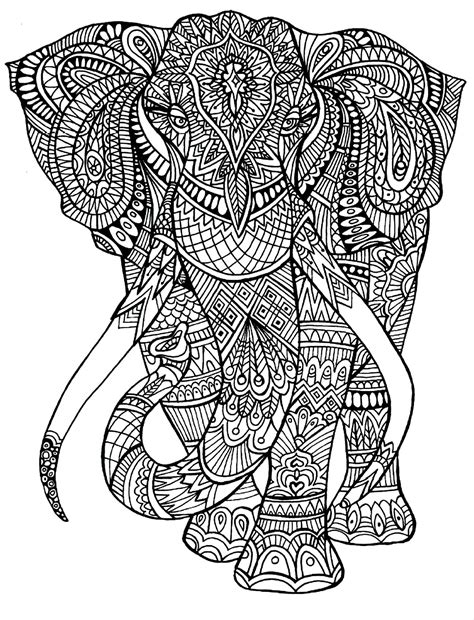 elephant pattern coloring pages everything you need to know about adult coloring the