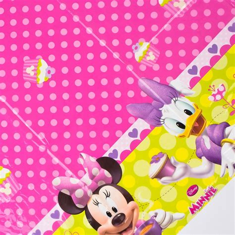 minnie mouse table cover disney minnie mouse table cover only 163 2 25