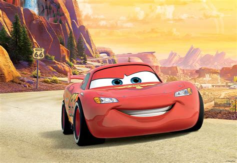 Mcqueen Car Wallpaper by Disney Cars Lightning Mcqueen Wall Mural Photo Wallpaper