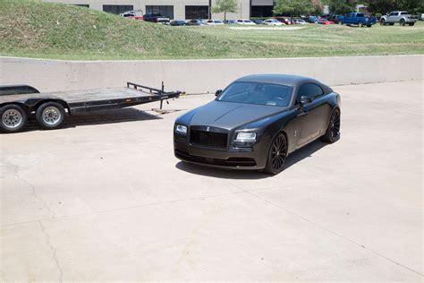 matte rolls royce rolls royce matte black wrap topper car wrap city