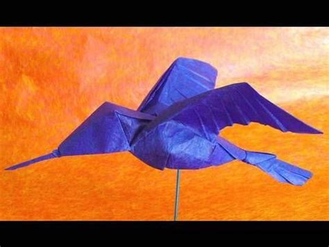 Origami Hummingbird Tutorial - 134 best images about origami tutorial on