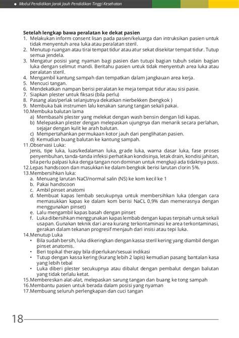 Pinset Anatomis modul 6 kdk ii