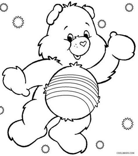printable coloring pages bears get this free preschool care bear coloring pages to print