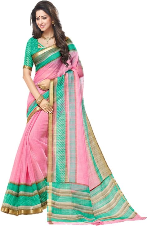 cotton sarees buy cotton sarees online in india at low buy miraan printed chanderi kota cotton multicolor sarees