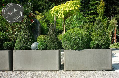 modern garden planters modern landscape and patio design with large modern garden