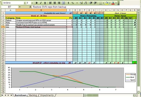 excel scrum template scrum excel sheets free scrum tool option azghanvi s