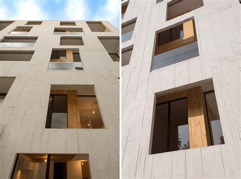 designboom apartment outer concrete shell covers amsterdam 169 apartments by