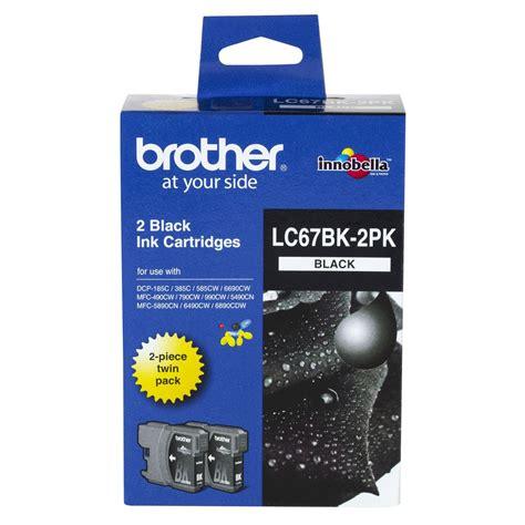 Lc 67 Black lc 67 ink cartridge black 2 pack officeworks